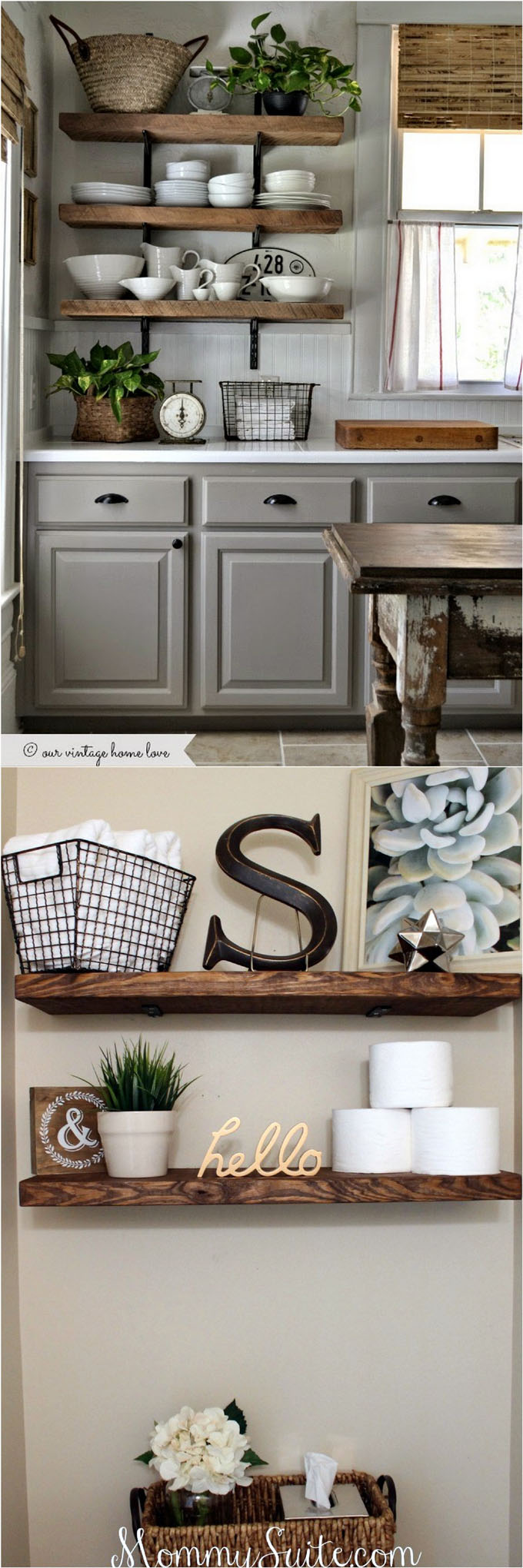 19 Diy Floating Shelves Ideas