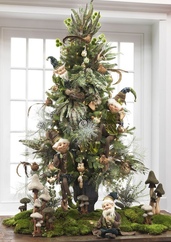 23 christmas tree ideas - Enchanted Forest Christmas Trees