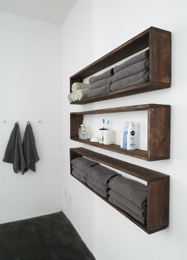 19 diy floating shelves ideas best of diy ideas - Floating shelf ideas for bathroom ...