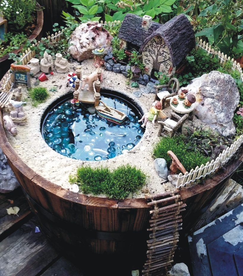 22 amazing fairy garden ideas one should know best of for Fairy garden decorating ideas
