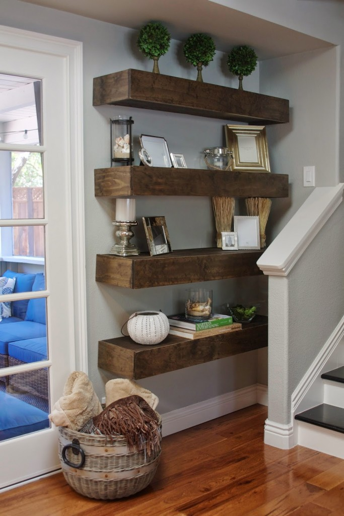 19 Diy Floating Shelves Ideas Best Of DIY Ideas