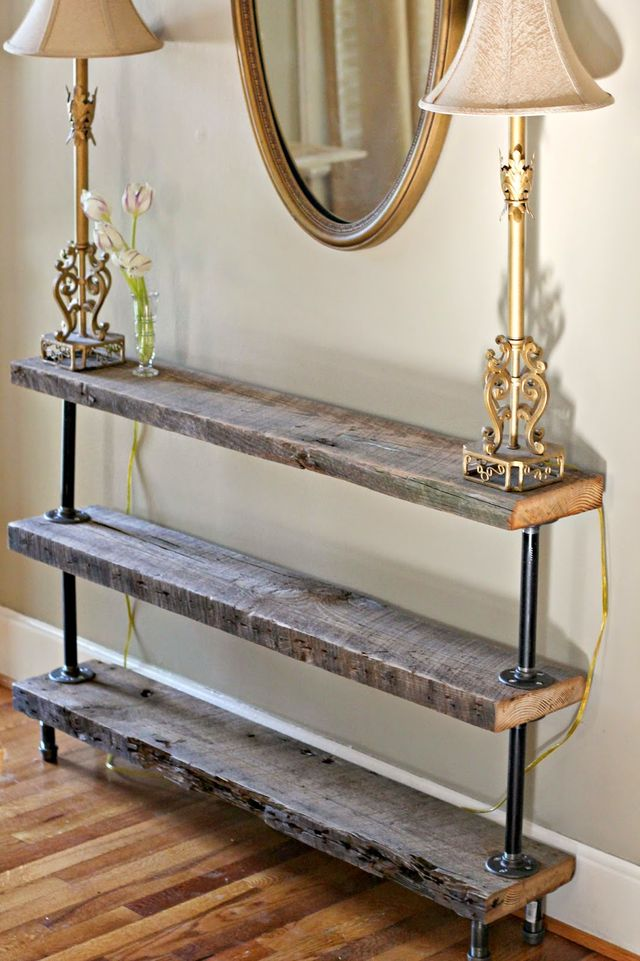 18 diy console table ideas best of diy ideas. Black Bedroom Furniture Sets. Home Design Ideas