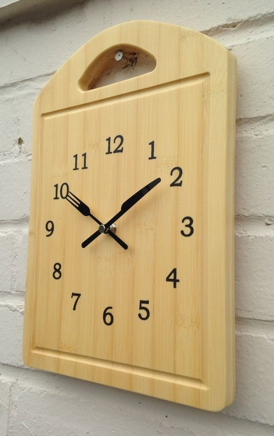 19 Beautiful DIY Wall Clock Ideas - Best of DIY Ideas