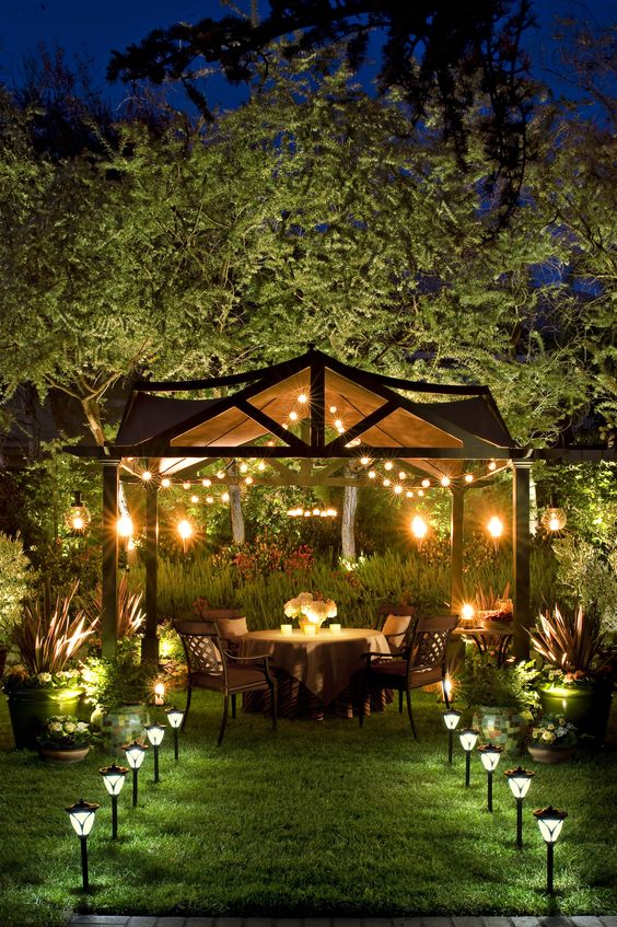 20 dreamy garden lighting ideas - Garden Ideas Lighting