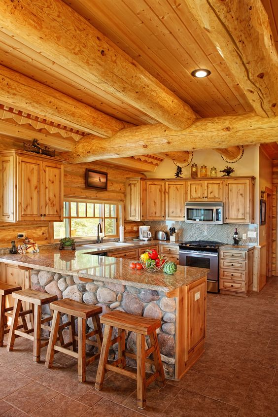 person who is living in a log home then consider yourself lucky a log