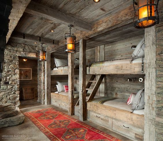 19 Log Cabin Home Décor Ideas: 23 Wild Log Cabin Decor Ideas