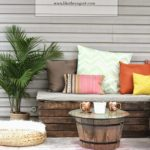 diy outdoor pallet furniture projects ideas