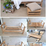 diy outdoor pallet furniture projects idea