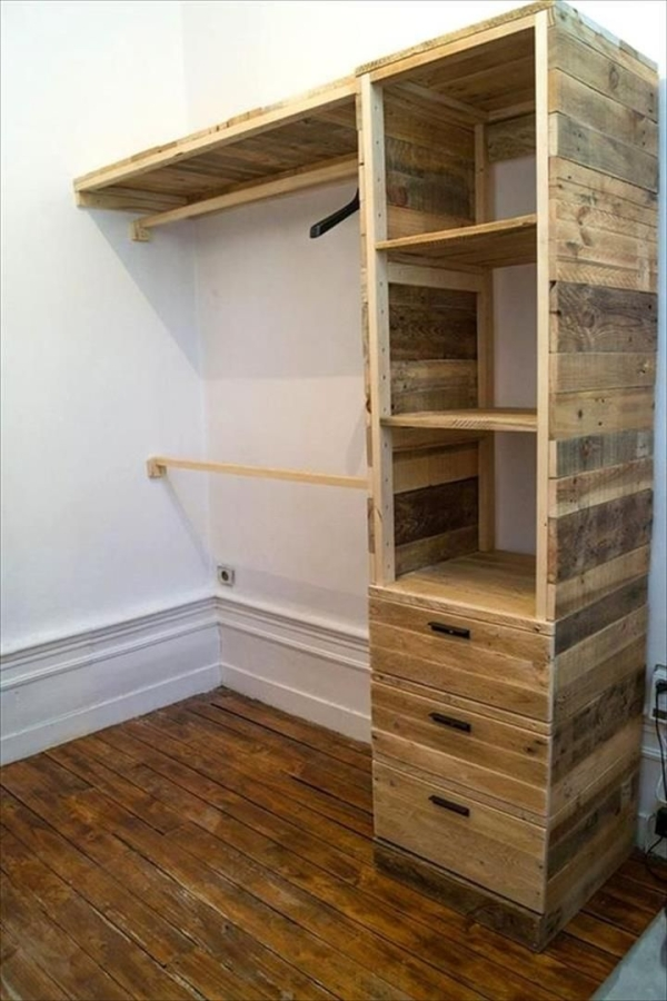 diy pallet furniture project