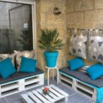 diy pallet tables and sofa for outdoor furniture designs