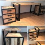 reclaimed pallets furniture idea