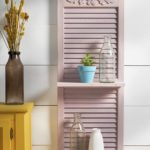 DIY shutter shelf ideas