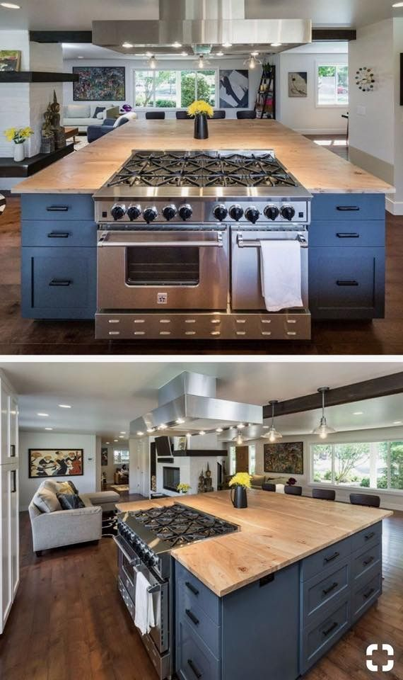 Magnificent Kitchen island ideas with stove
