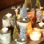 Economical and Inexpensive Christmas centerpiece ideas which can be easily copied