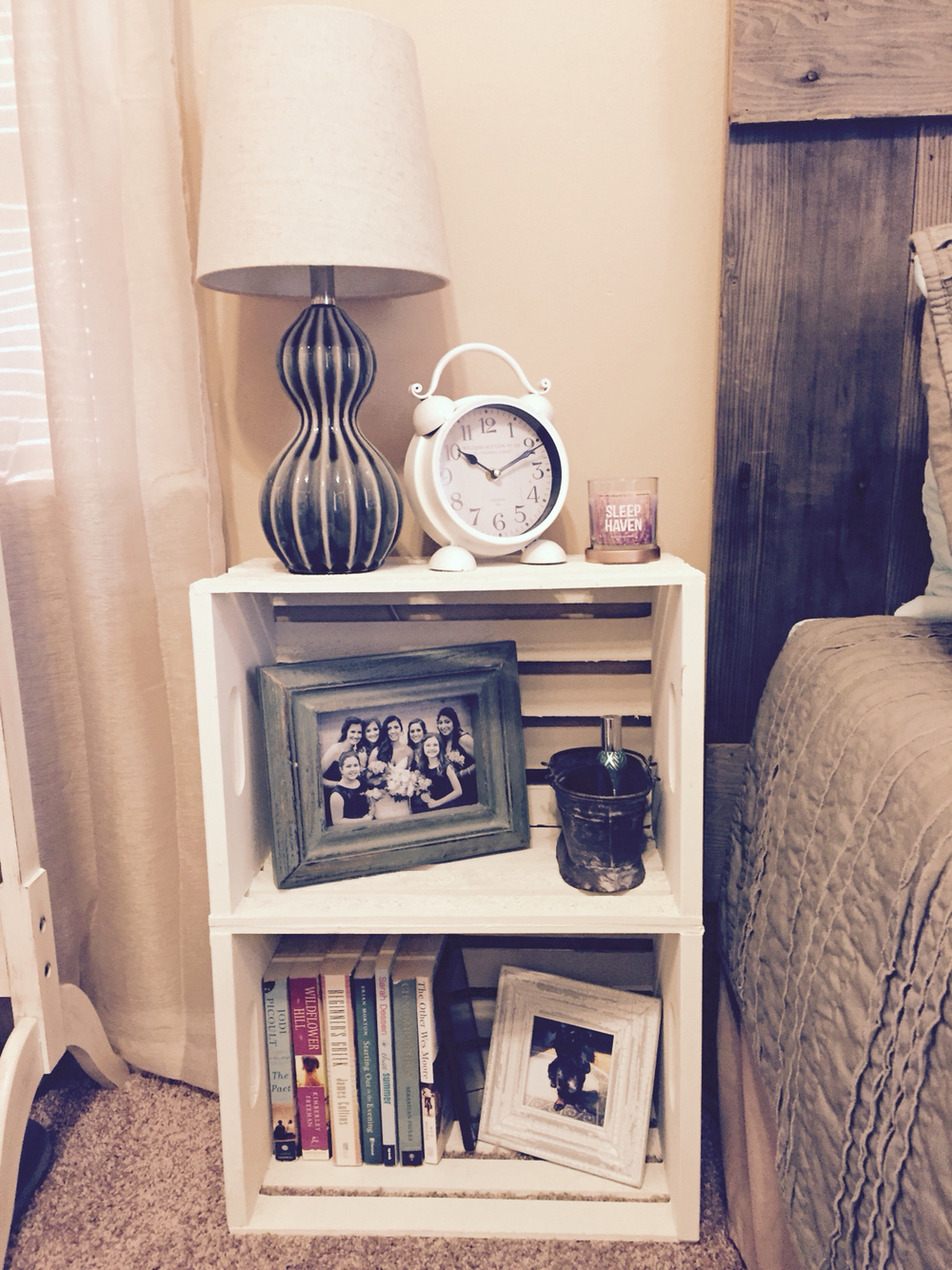 22 nightstand ideas for your bedroom - best of diy ideas Diy Side Table Ideas
