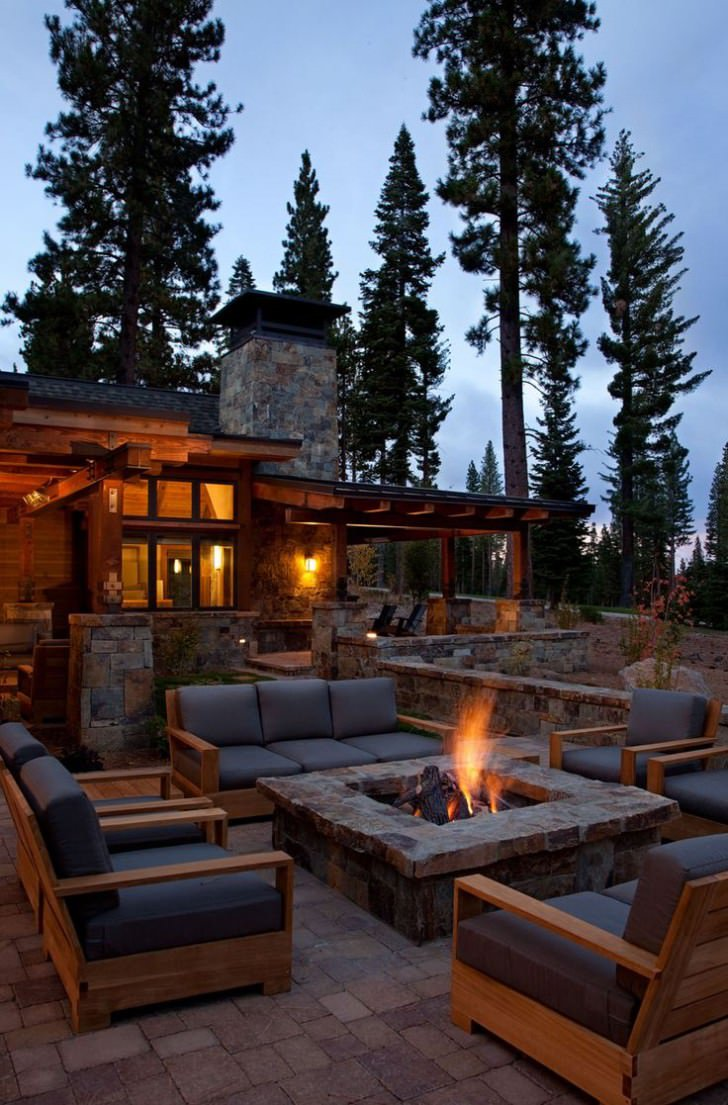 18 Fire Pit Ideas For Your Backyard - Best of DIY Ideas on Garden Ideas With Fire Pit id=42133