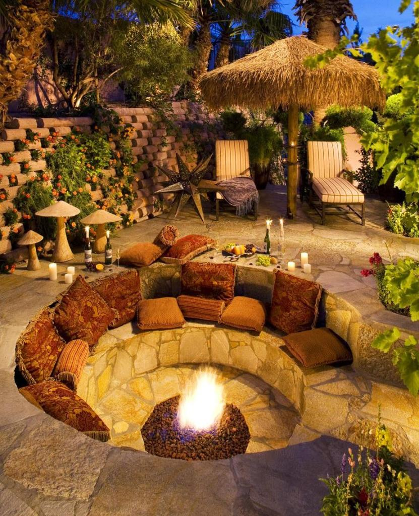 18 Fire Pit Ideas For Your Backyard - Best of DIY Ideas on Diy Outdoor Fire id=64375